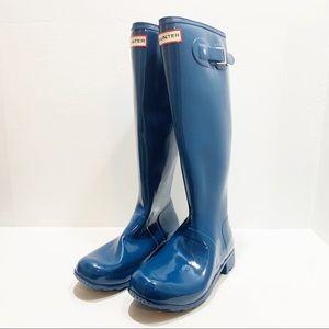 HUNTER   Original Gloss Tall Boots